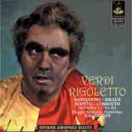 『リゴレット』全曲 ガヴァッツェーニ&フィレンツェ五月祭、バスティアニーニ、クラウス、他(1960 ステレオ)(2CD)