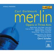 歌劇『メルリン』全曲 シャラー&フィルハーモニー・フェスティヴァ、キュンツリ、ガブラー、他(2009 ステレオ)(3CD)
