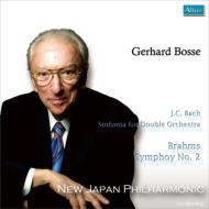 ブラームス:交響曲第2番、J.C.バッハ:シンフォニア ボッセ&新日本フィル