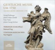 Sacred Music At 1750: Angerer / Musicum Wien Freiburger Domkapelle