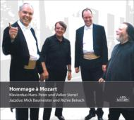 Hommage A Mozart-music For Piano 4 Hands: H-p & V.stenzl