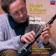 モーツァルト:オーボエ協奏曲、R.シュトラウス:オーボエ協奏曲 ハインツ・ホリガー、エド・デ・ワールト&ニュー・フィルハーモニア管弦楽団