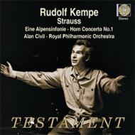 アルプス交響曲、ホルン協奏曲第1番 ケンペ&ロイヤル・フィル、シヴィル