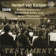 ブラームス:交響曲第1番、シェーンベルク:浄夜 ヘルベルト・フォン・カラヤン&ベルリン・フィル(1988年ステレオ・ライヴ)