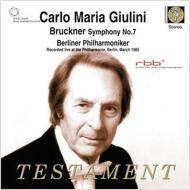 交響曲第7番 ジュリーニ&ベルリン・フィル(1985 ステレオ)