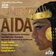 『アイーダ』全曲 カラヤン&ウィーン・フィル、テバルディ、シミオナート、他(1959 ステレオ)(2CD)