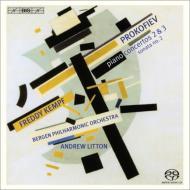 ピアノ協奏曲第2番、第3番、ピアノ・ソナタ第2番 フレディ・ケンプ、リットン&ベルゲン・フィル
