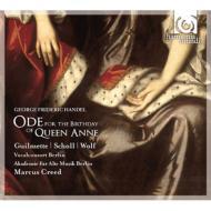 アン女王の誕生日のための頌歌、主は言われた クリード&ベルリン古楽アカデミー、ショル、ギユメット、他