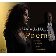 Agata Zubel Poem-recital Copland, Scriabin, Berg, Szymanski