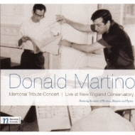 Memorial Tribute Concert-donald Martino: Wheeler / Dinosaur Annex Music Ensemble