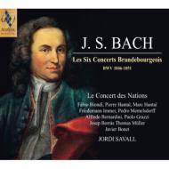 ブランデンブルク協奏曲全曲 サヴァール&ル・コンセール・デ・ナシオン(2SACD)