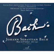 ミサ曲ロ短調 ブリュッヘン&18世紀オーケストラ、カペラ・アムステルダム(2009)(2CD)