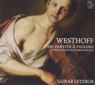 無伴奏ヴァイオリンのための6つのパルティータ グナール・レツボール