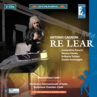 歌劇『レアル王』全曲 カルディ&イタリア国際管、フィヌッチ、ダオリオ、他(2009 ステレオ)(2CD)