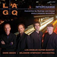 ロドリーゴ(1901-1999)/Concierto Andaluz: Los Angeles Guitar Quartet Amado / Delaware So +assad: Interchan