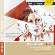チャイコフスキー:ヴァイオリン協奏曲、ドヴォルザーク:ヴァイオリン協奏曲 イダ・ヘンデル、ミュラー=クライ&シュトゥットガルト放送響