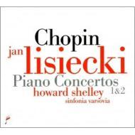 ピアノ協奏曲第1番、第2番 リシエツキ、シェリー&シンフォニア・ヴァルソヴィア