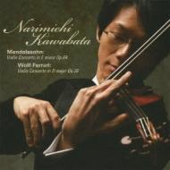メンデルスゾーン:ヴァイオリン協奏曲、ヴォルフ=フェラーリ:ヴァイオリン協奏曲 川畠成道、ハルペツキー&チェコ・ナショナル響、他