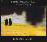 J.S.バッハ:六つのパルティータ〜鍵盤練習曲集第1巻 BWV.825-BWV.830 バンジャマン・アラール