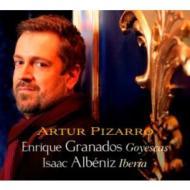 グラナドス:『ゴイェスカス』、アルベニス:『イベリア』 ピザーロ(2SACD)