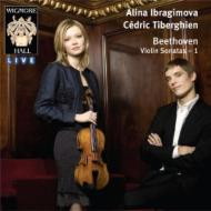 ヴァイオリン・ソナタ第1、4、7、8番 イブラギモヴァ、ティベルギアン