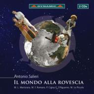 歌劇『逆さまの世界』全曲 サルデッリ&アレーナ・ディ・ヴェローナ管、ロマーノ、ダグアンノ、他(2009 ステレオ)(2CD)