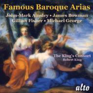 Famous Baroque Arias: R.king / King's Consort Ainsley J.bowman Etc