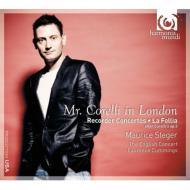ラ・フォリア〜ヴァイオリン・ソナタ作品5より(リコーダー版、管弦楽伴奏) シュテーガー、カミングス&イングリッシュ・コンサート