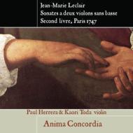 2つのヴァイオリンのためのソナタ集第2巻作品12 アニマ・コンコルディア(2CD)