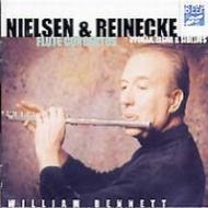 ライネッケ:フルート協奏曲、ニールセン:フルート協奏曲、他 ベネット、佐藤俊太郎&イギリス室内管