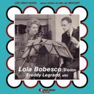 ヴァイオリンとヴィオラのための二重奏曲第1番、第2番 ボベスコ、F.ルグラン