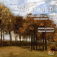 ピアノ五重奏曲、弦楽四重奏曲第1番 コロリオフ(p)、プラジャーク四重奏団