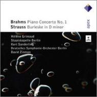Brahms Piano Concerto No, 1, R.Strauss Burleske : Grimaud(P)K.Sanderling / Staatskapelle Berlin, Zinman /
