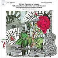 ロドリーゴ:アランフェス協奏曲、ある貴紳のための幻想曲、ヴィラ=ロボス:ギター小協奏曲 ウィリアムス、バレンボイム&イギリス室内管、他