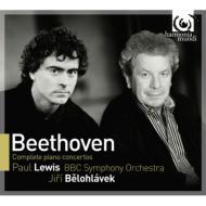 ピアノ協奏曲全集 ポール・ルイス、ビエロフラーヴェク&BBC交響楽団(3CD)