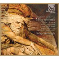 ミサ・ソレムニス ヘレヴェッヘ&シャンゼリゼ管弦楽団