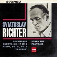 ベートーヴェン:ピアノ・ソナタ第17番『テンペスト』、シューマン:幻想曲 リヒテル