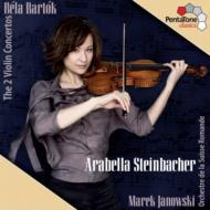 ヴァイオリン協奏曲第1番、第2番 シュタインバッハー、ヤノフスキ&スイス・ロマンド管