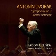 ドヴォルザーク:交響曲第5番、ヤナーチェク:シンフォニエッタ エリシュカ&札幌交響楽団