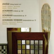 ドヴォルザーク:弦楽六重奏曲、シューマン:幻想小曲集、他 テツラフ、クーレン、リヴィニウス、ヴィトマン、フォークト、他