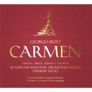 Carmen -sung in German : Kegel / Leipzig Rso, Cervena, Apreck, Lauhofer, etc (1960 Stereo)(2CD)