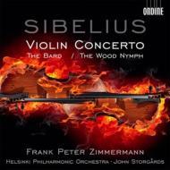 ヴァイオリン協奏曲、吟遊詩人、森の精 ツィンマーマン、ストルゴー&ヘルシンキ・フィル