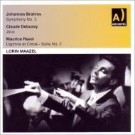 ブラームス:交響曲第3番(RAIミラノ響 1956)、ラヴェル:『ダフニスとクロエ』第2組曲(フランス国立放送管 1958)、他 マゼール