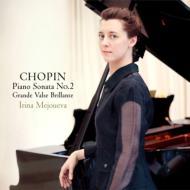 ピアノ・ソナタ第2番、ポロネーズ第1番、第2番、即興曲第1番、第2番、ワルツ第1番 メジューエワ