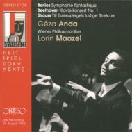 ベルリオーズ:幻想交響曲、ベートーヴェン:ピアノ協奏曲第1番、R.シュトラウス:ティル マゼール&ウィーン・フィル、アンダ(1963年ライヴ)(2CD)