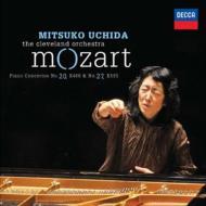 ピアノ協奏曲第20番、第27番 内田光子、クリーヴランド管弦楽団