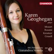 モーツァルト:ファゴット協奏曲、クルーセル:ファゴット小協奏曲、他 ジョーヒガン、ノセダ&BBCフィル