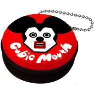 キュービックマウス 携帯シール入りジッパー缶ケース ミッキー(Red)