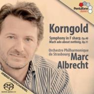 交響曲、組曲『から騒ぎ』 M・アルブレヒト&ストラスブール・フィル