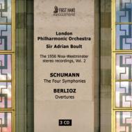 Schumann Complete Symphonies, Berlioz Overtures : Boult / London Philharmonic (1956 Stereo)(3CD)
